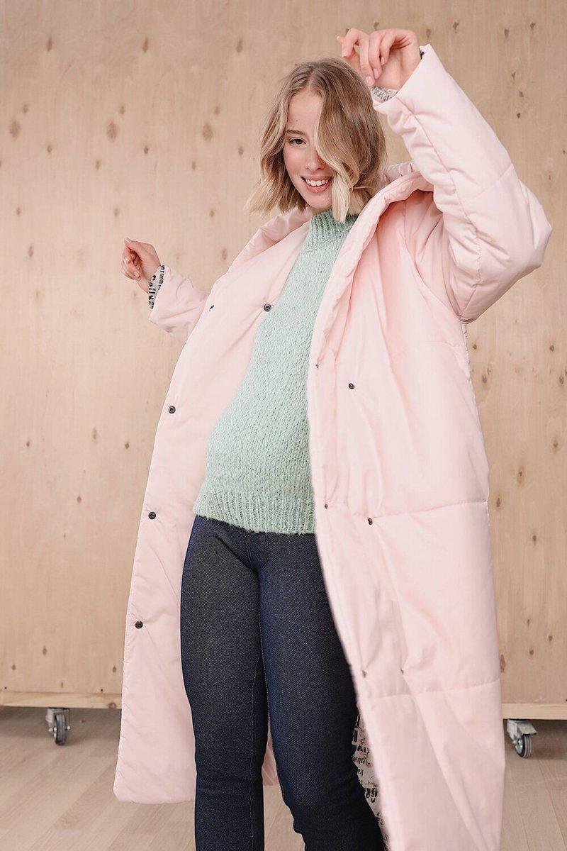 Куртка для беременных 2734274 персиковый крем
