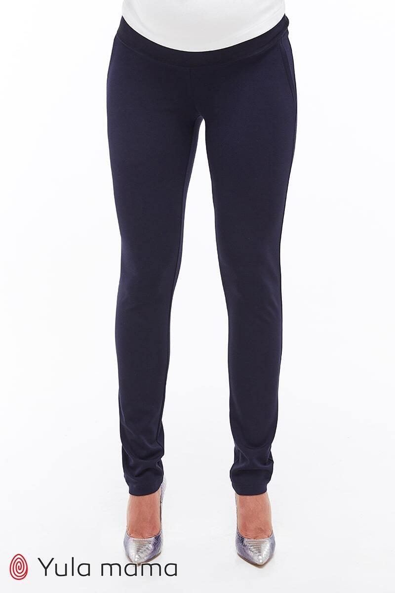 Классические брюки для беременных Livorno темно-синие