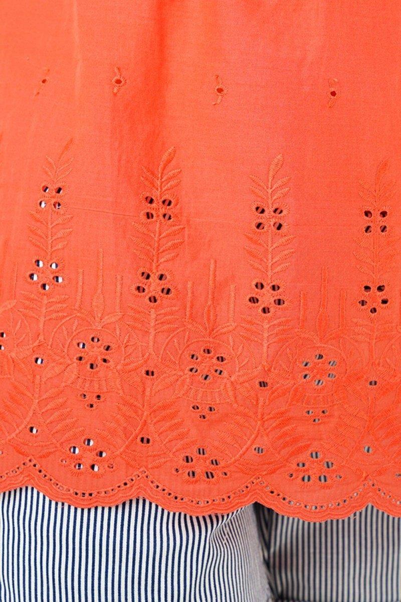 Блуза для беременных 3093074 коралловый