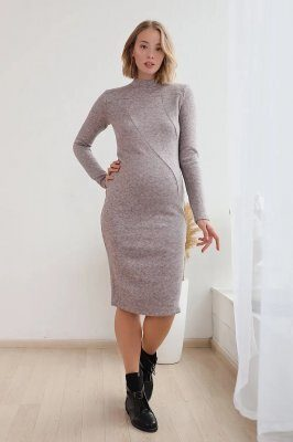 Платье гольф для беременных 3151725 весенний крокус
