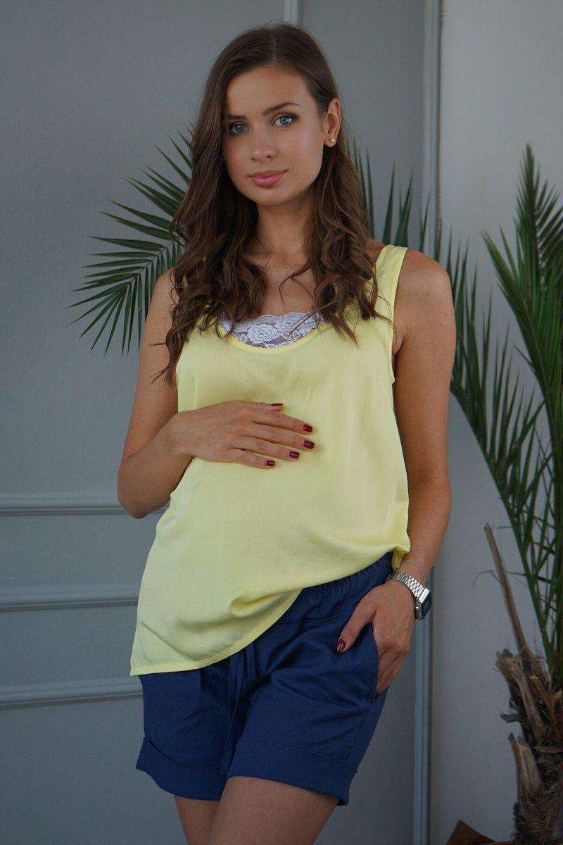 Майка для беременных 3165616 Жёлтый