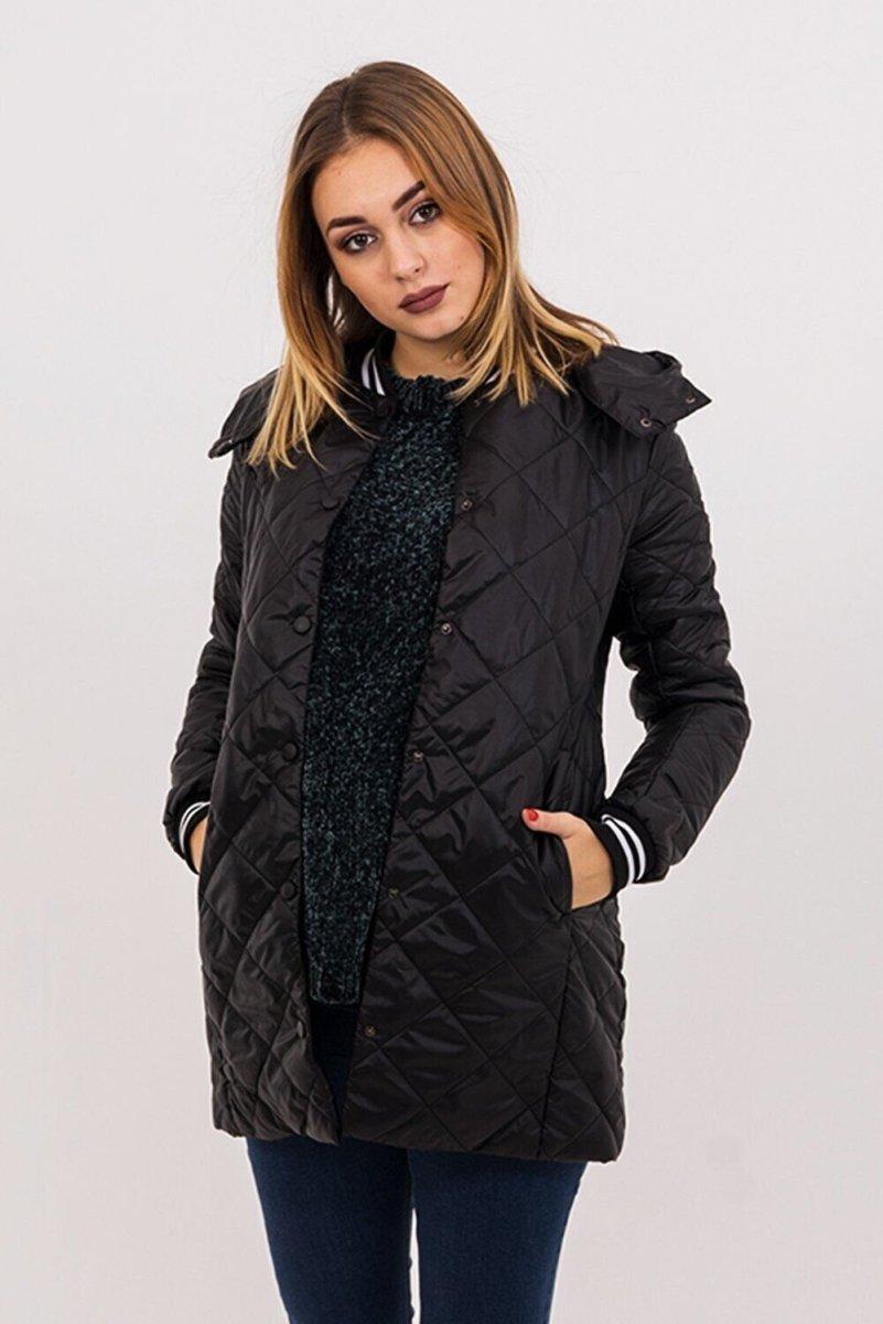 Демисезонная куртка 3133272 черная