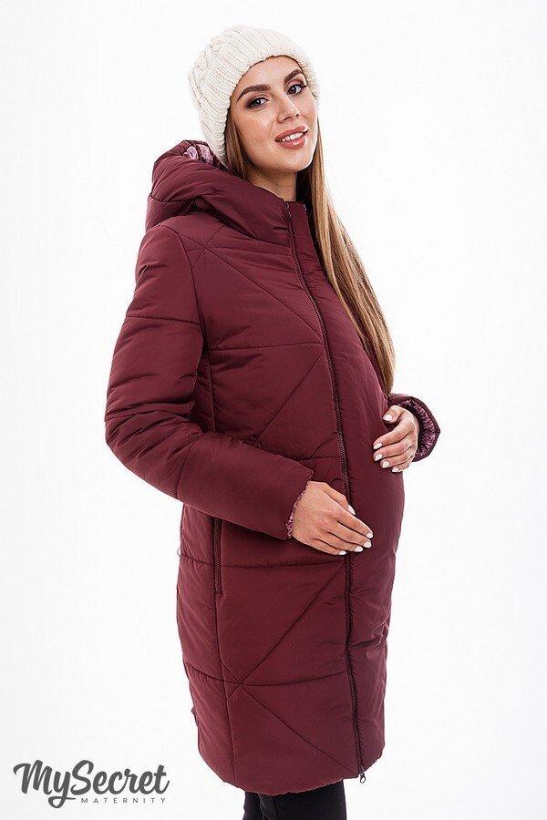 Зимнее пальто Angie бордо
