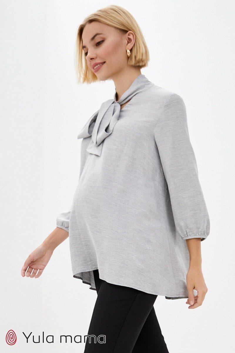 Туника для беременных и кормящих Berenice светло-серый
