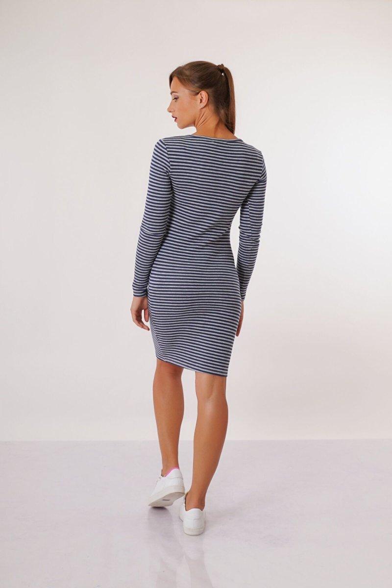Платье для беременных 4030549 синее