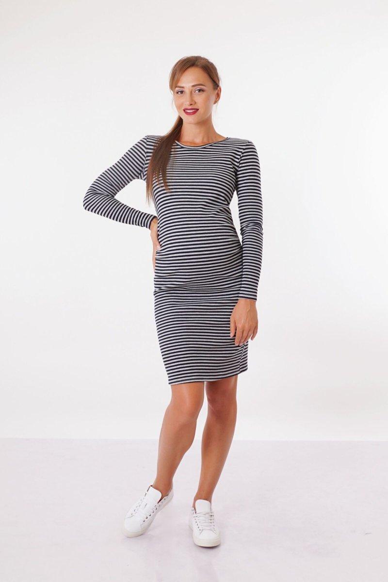 Платье для беременных 4030549 черное