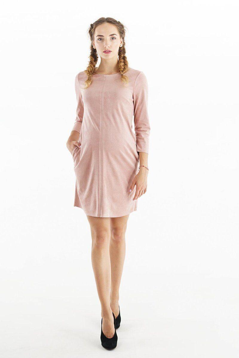 Платье для беременных 4038357 розовый