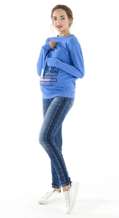 Джинсы для беременных 4044737-3 синий варка 2