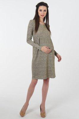 Платье для беременных 4047024 коричневый