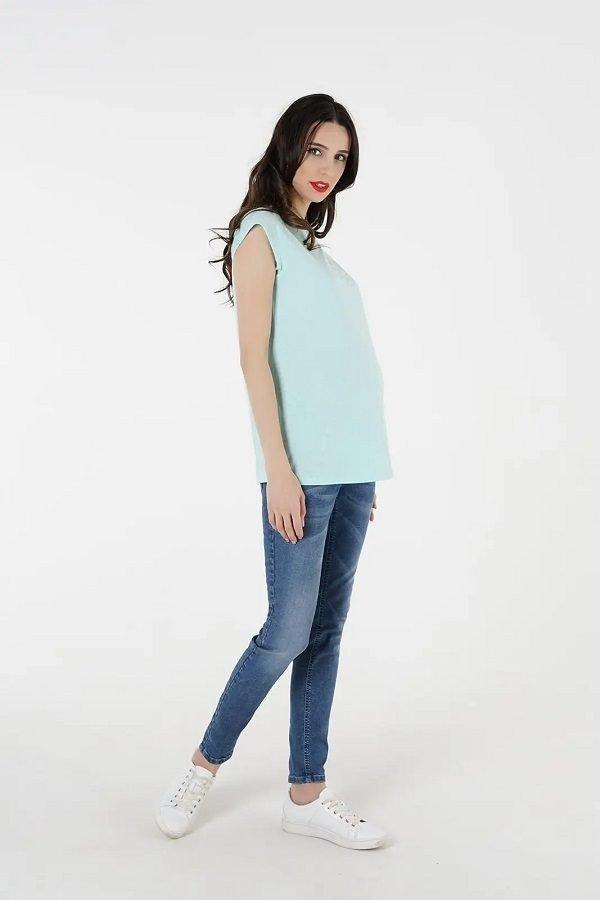 Джинсы для беременных 4060723-5 синий варка 2