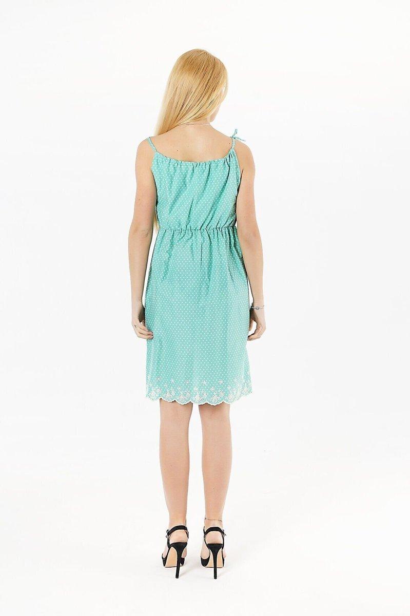 Платье для беременных 4063247 зелёный