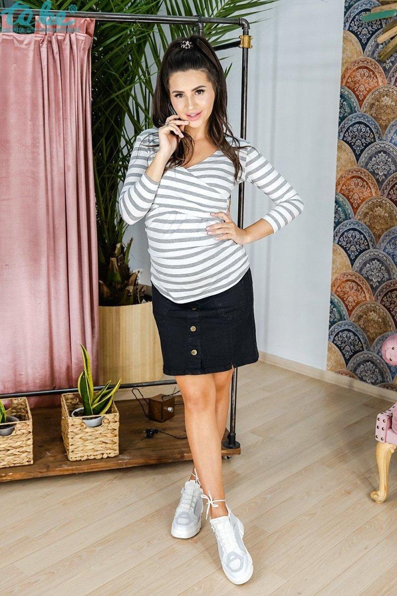 Юбка для беременных 4119693-6 черная