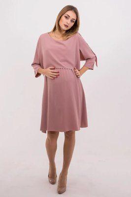 Платье для беременных и кормящих 4135544 розовое