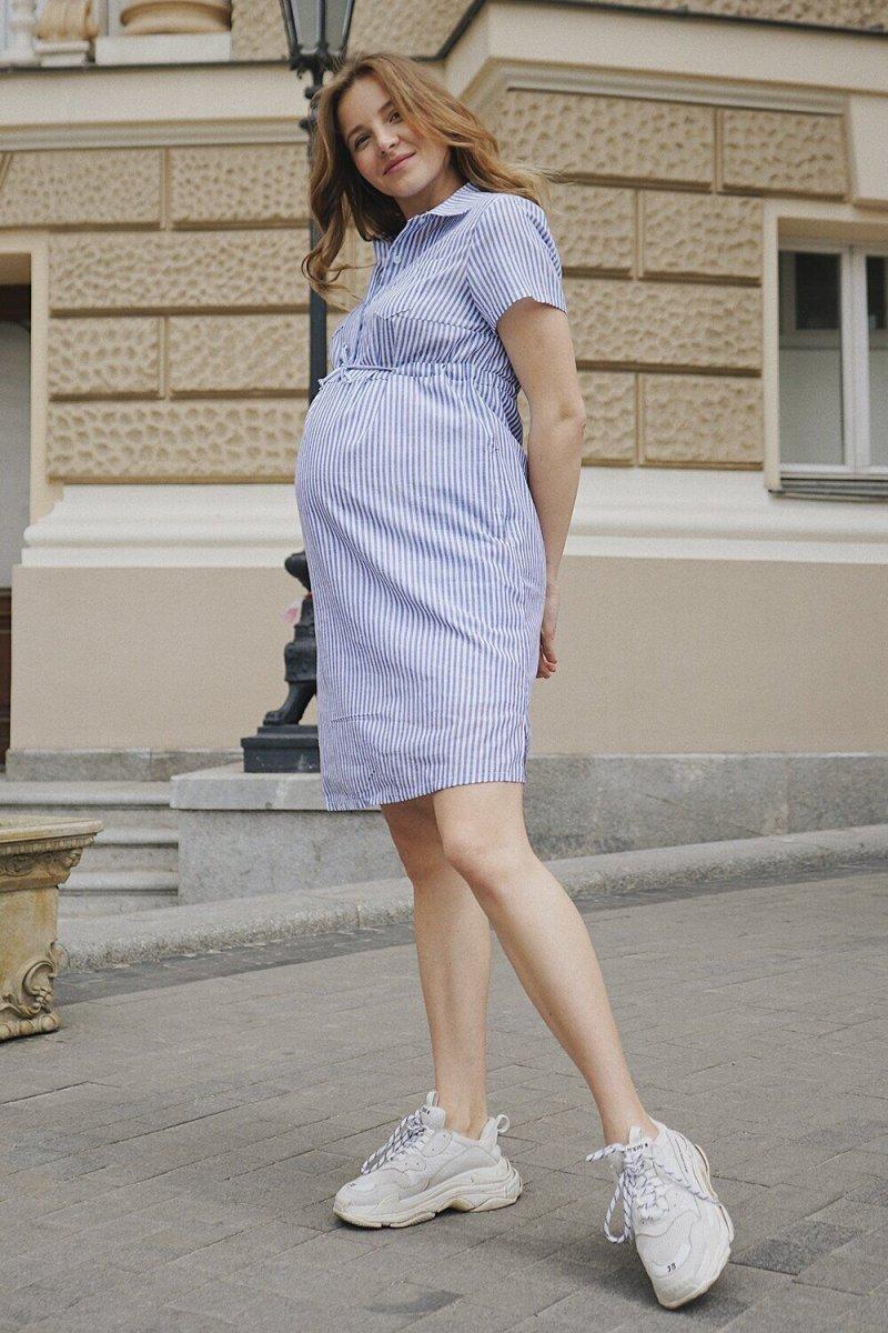 Платье для беременных 4171720 лавандовый