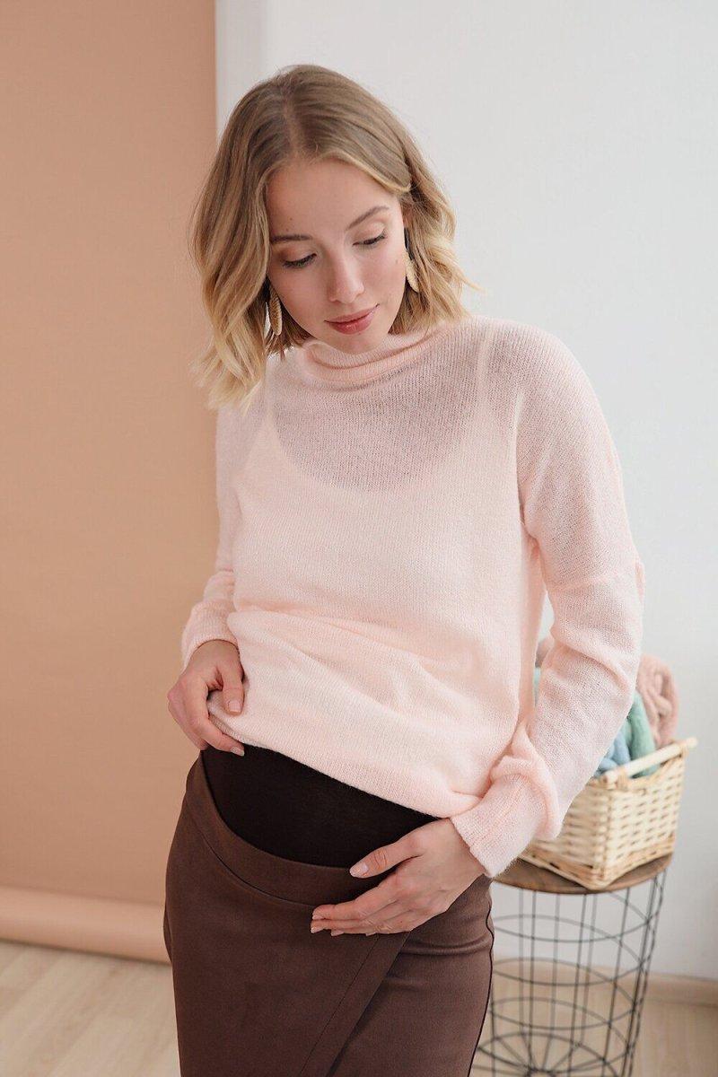 Юбка для беременных 4196701 сахарный миндаль