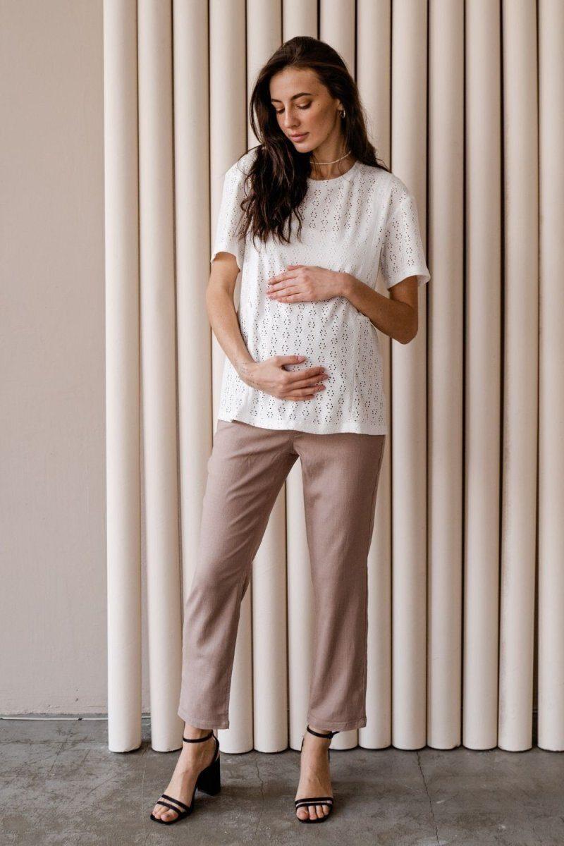 Брюки для беременных 4276740 мокко