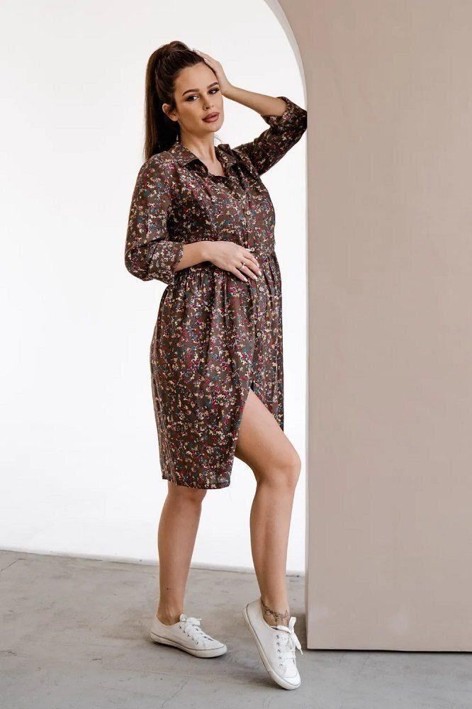 Сукня для вагітних і годуючих 4292604 хакі