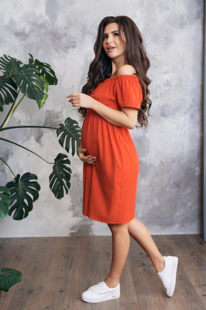 Платье для беременных 4169616 Красный