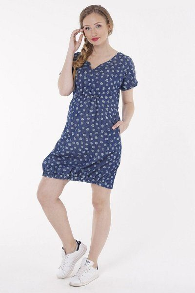Платье джинсовое 1154651 синий варка 1
