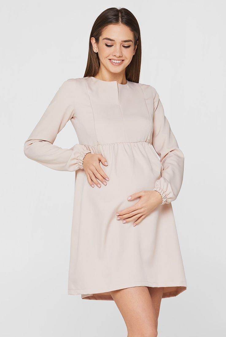 Сукня Genoa бежевий для вагітних і годування