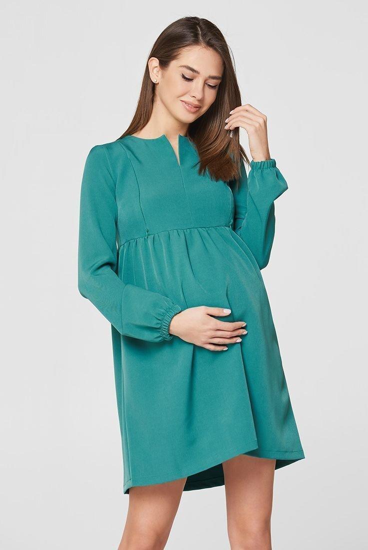 Платье Genoa изумрудный для беременных и кормления