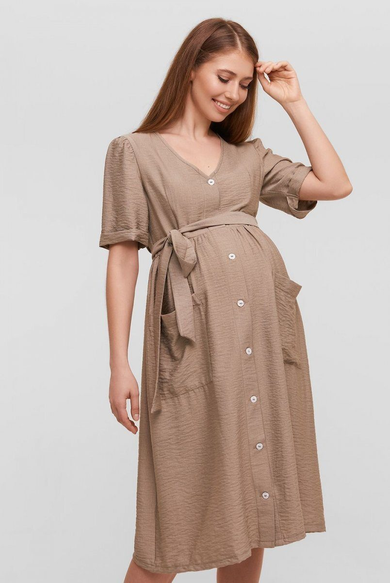 Платье для беременных и кормящих Lima Бежевый