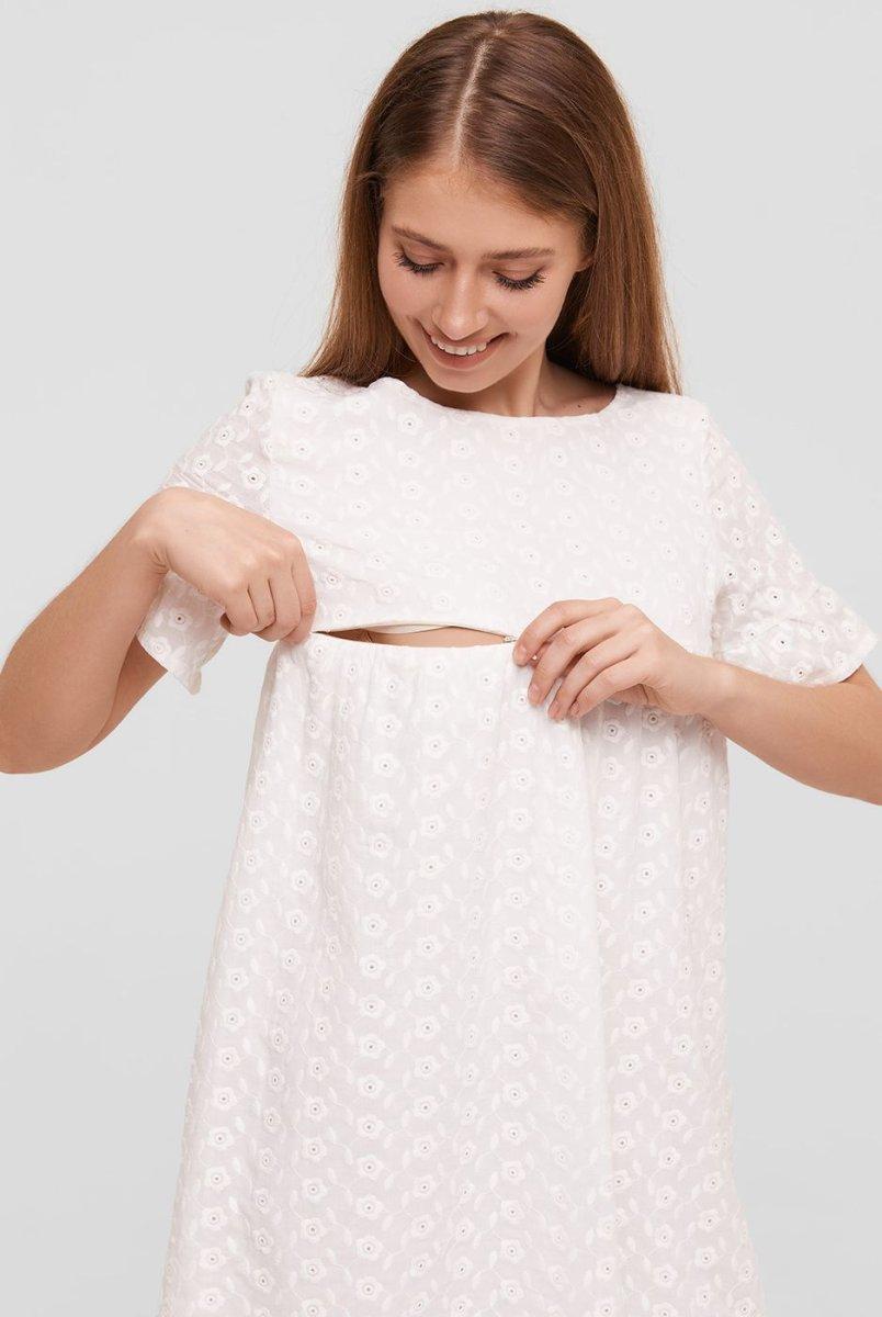 Летнее платье для беременных и кормящих Miami цветок