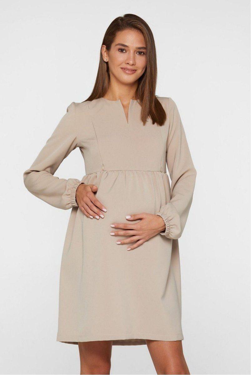 Сукня для вагітних і годуючих Genoa темно-бежевий
