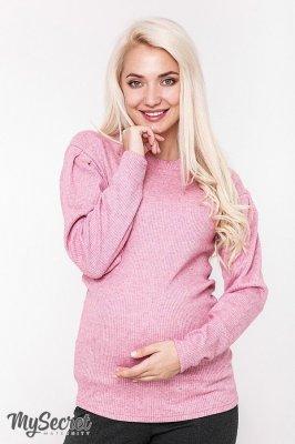Свитер для беременных Gaia розовый