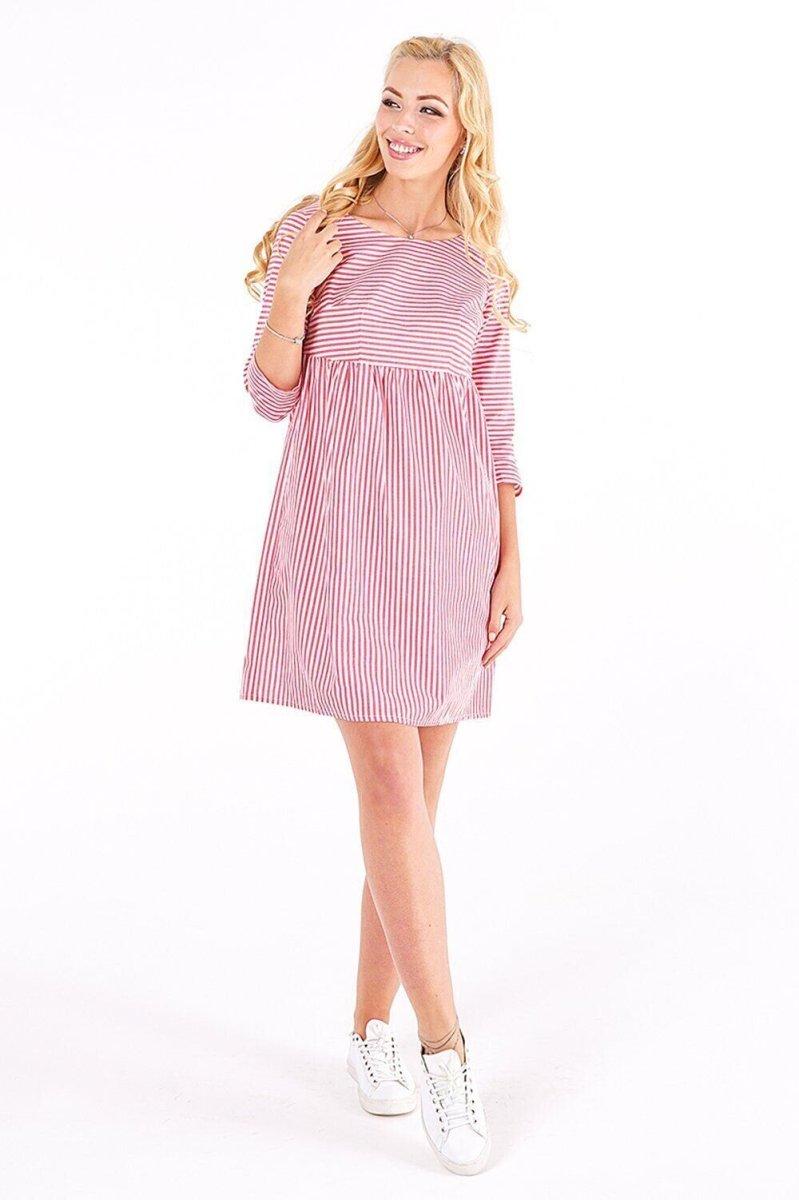Платье для беременных 4004224 Красный