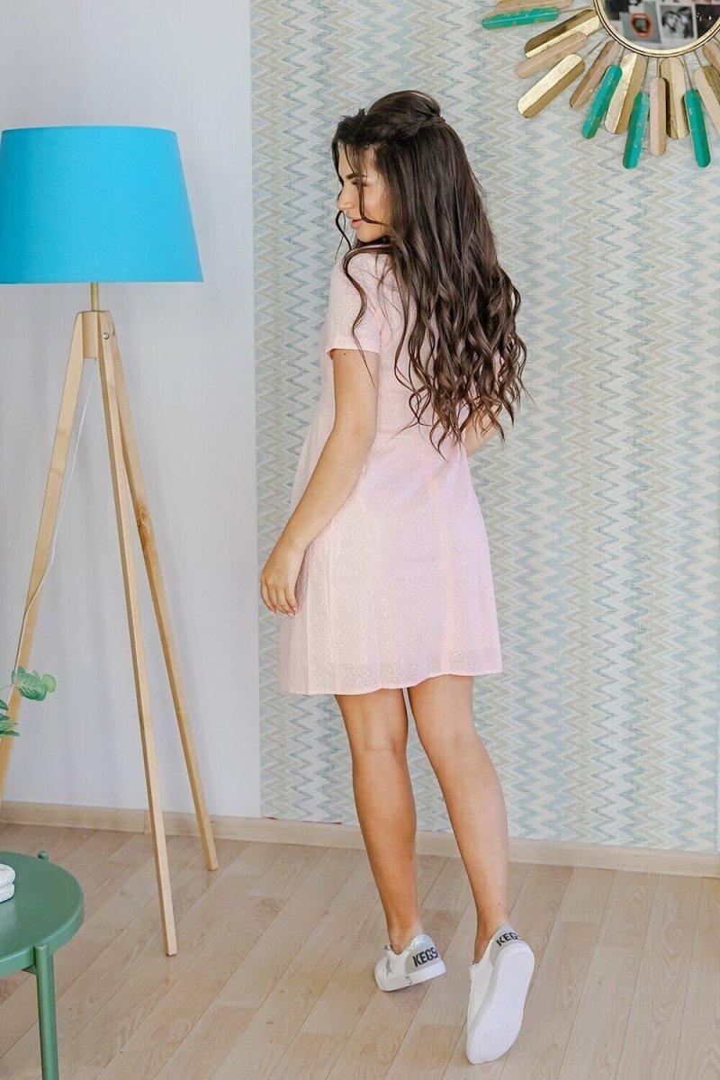 Платье для беременных 17014039 Розовый