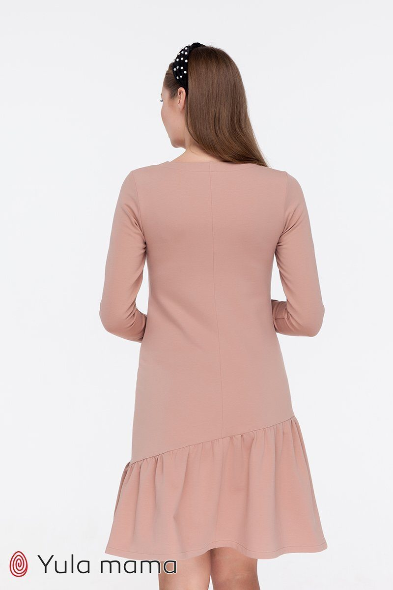 Платье для беременных и кормящих Joi капучино