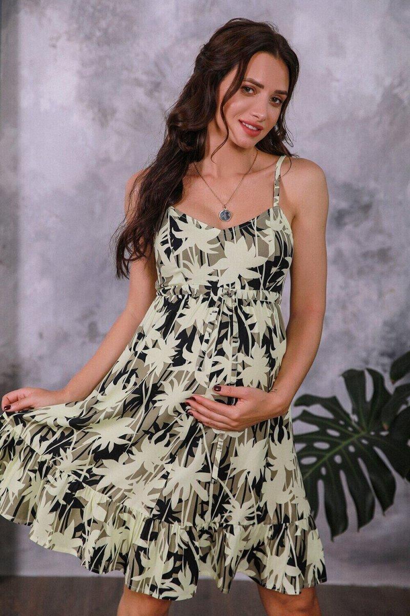Сарафан для беременных 1374604 хаки