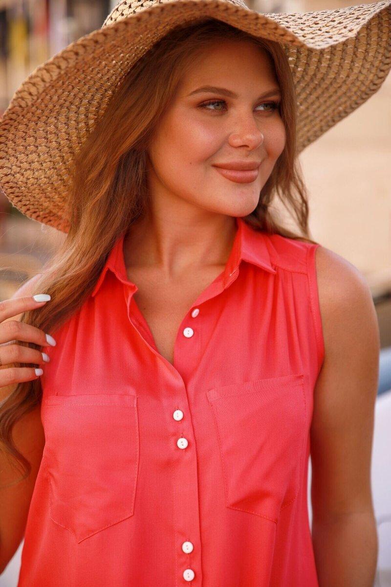 Блуза для вагітних 4186616 малиновий