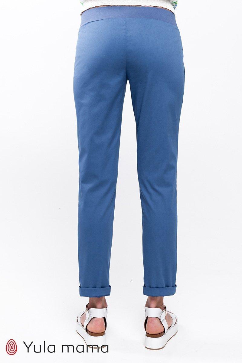Комфортные брюки для беременных Melani джинсово-голубой