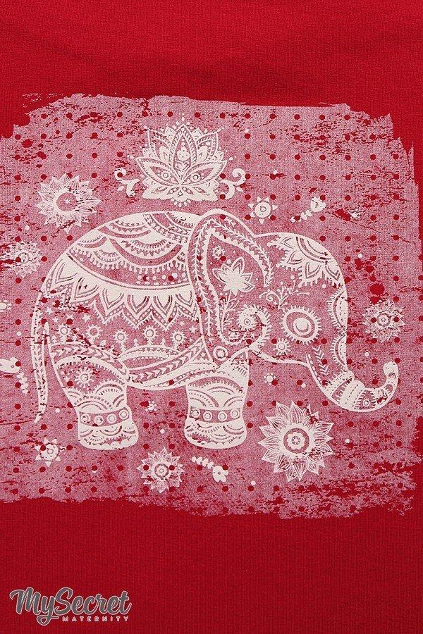 Майка для беременных Armina elephant бордо sale