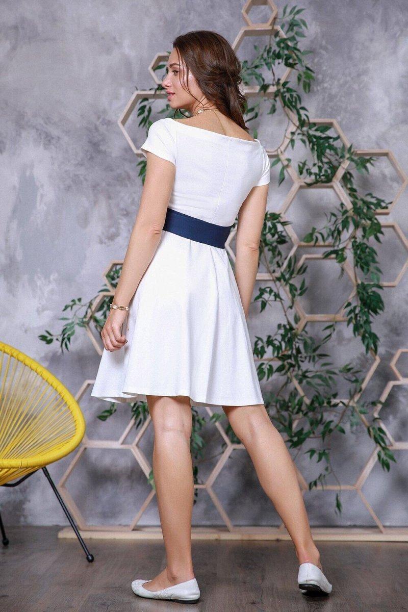 Платье для беременных 4153001 Белый