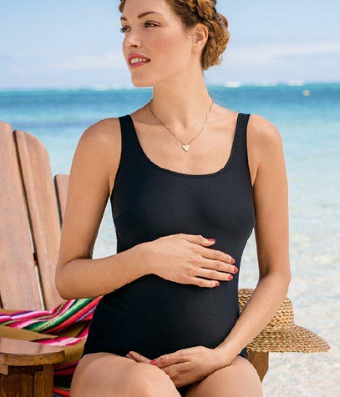 Купальник цельный для беременных 9571 L8