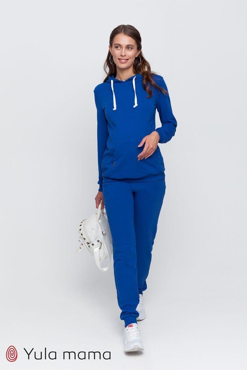 Спортивный костюм для беременных и кормящих Allegro ярко-синий