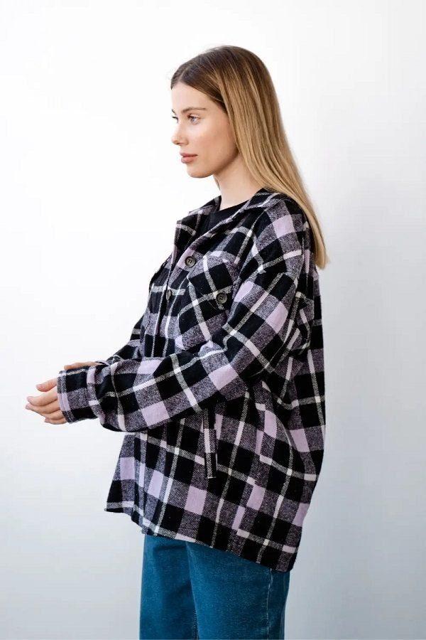 Рубашка для беременных 4368222 лаванда