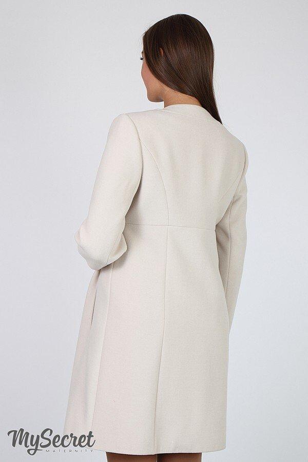 Пальто для беременных Madeleine бежевый