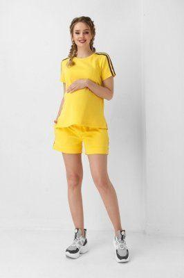 Футболка для беременных 1952 0000 желтая