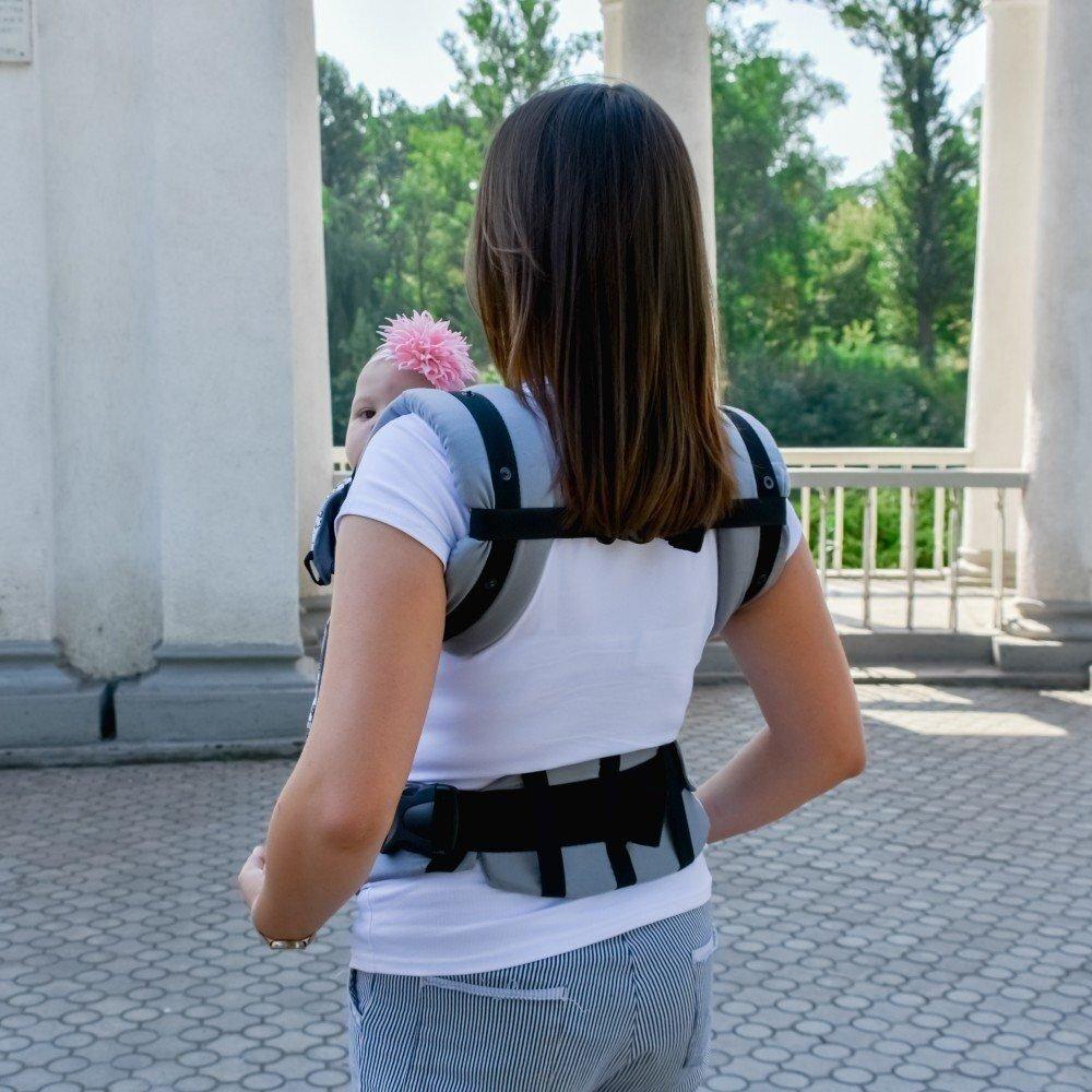 Эрго рюкзак Світ навколо серый Париж (4 в 1)