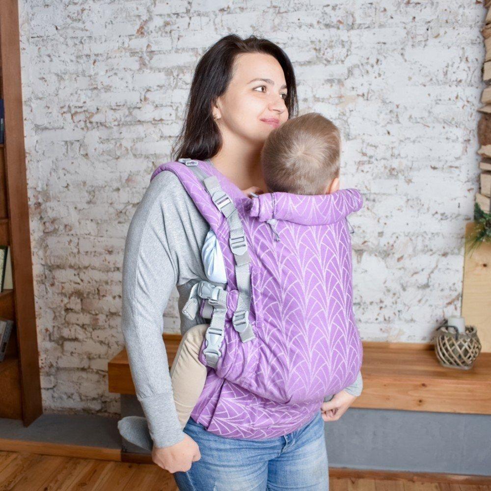 Эрго рюкзак с рождения Adapt сиреневый Lily (0-48 мес)