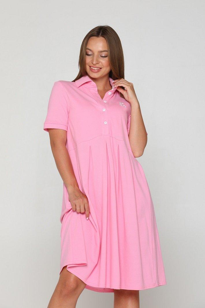 Літнє плаття для вагітних Polo Sorento рожеве