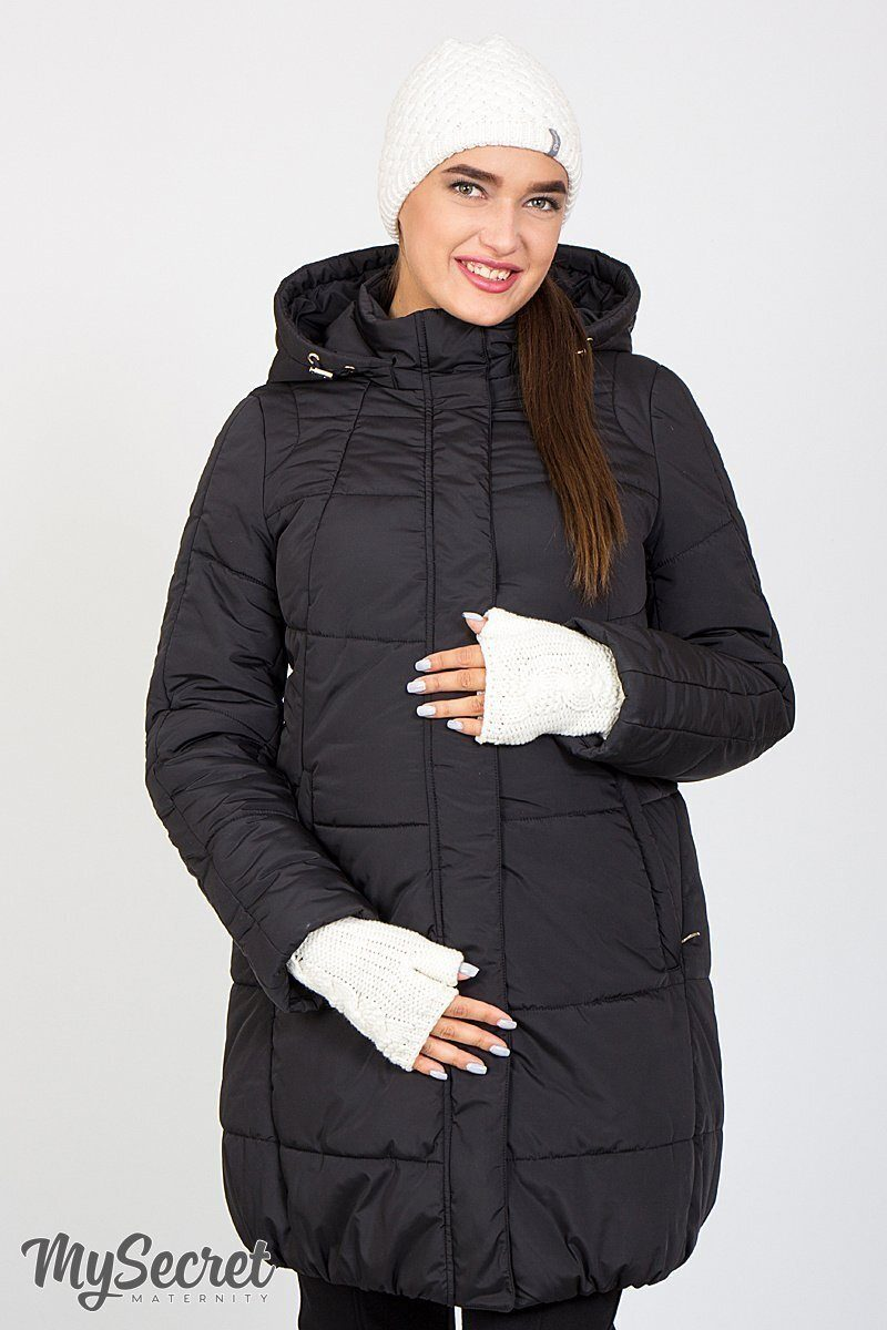 Зимняя куртка для беременных Jena черный