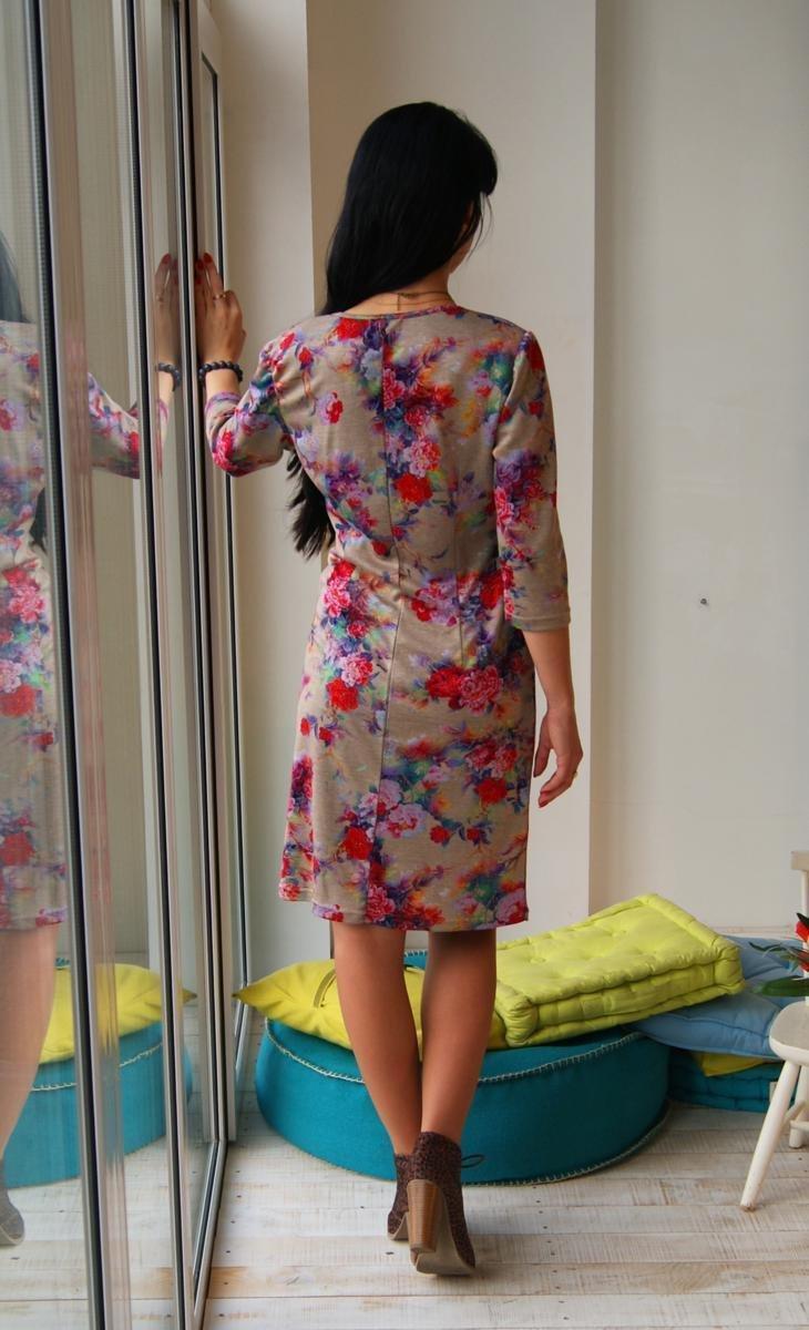 Платье Букет