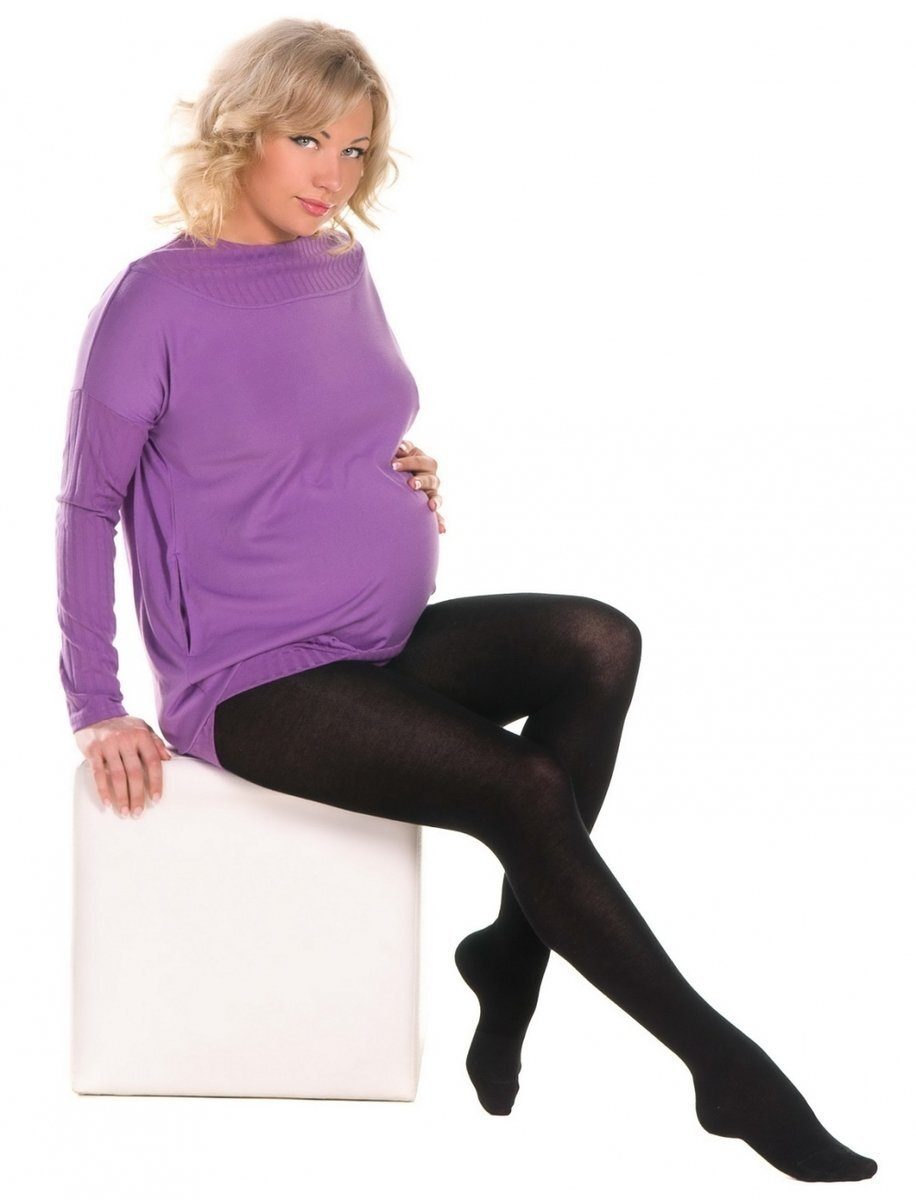 Теплые колготы для беременных 360 den, арт. 704